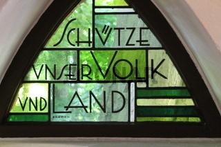 Ein Kapellenfenster