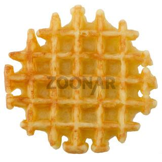 Crisp waffle