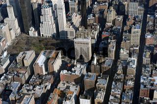 Luftaufnahme Flat Iron Building, New York