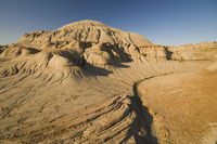 badlands erosion rills