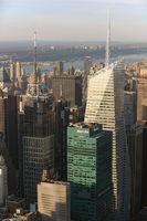 Manhattan in New York City (USA)