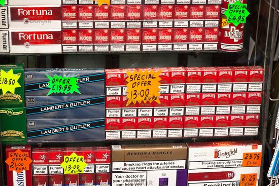 Price of California duty free cigarettes Marlboro