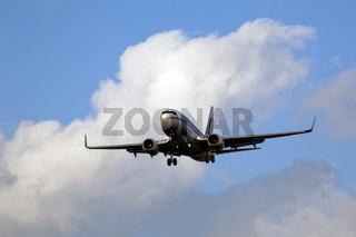 Landeanflug auf Berlin Tegel