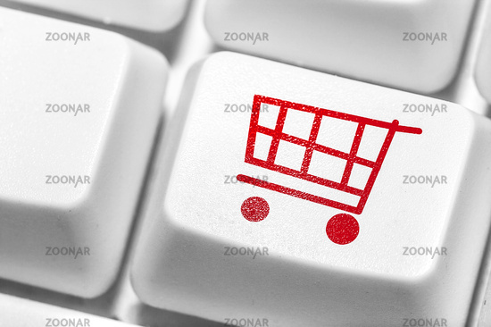 E-commerce, Shopping online.