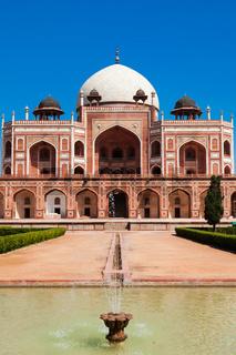 Humayun's Tomb. Delhi