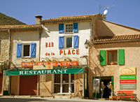 Bar, La Palud, Gorges du Verdon, France