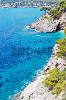 Bucht im Mittelmeer
