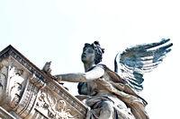 Statue Vyšehrad cemetary Prague