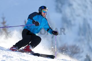 Carvender Skifahrer