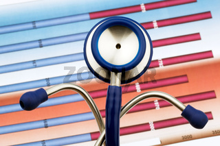 Stethoskop und Bilanzzahlen