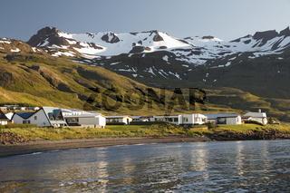 Grundarfjörður town. Snæfellsnes peninsula