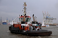 Tug Bugsier 5 at Birthday of the Port of Hamburg