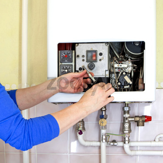 plumber gas heating