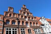 Stepped gables in Lueneburg