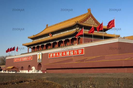 Tiananmen Gate, Beijing, China