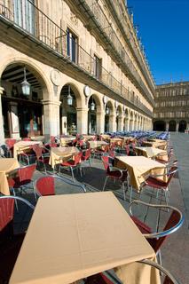 Mayor square, Salamanca, Castilla y Leon, Spain