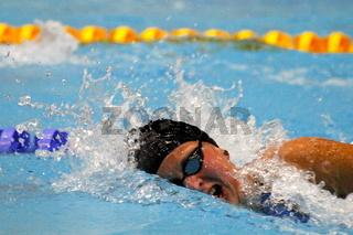 Kraulschwimmerin