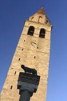 Bell tower of the Cathedral of Aquileia, Friuli-Ve