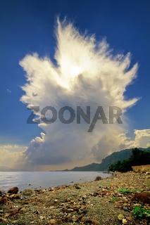 Cumulonimbus Incus Cloud Rising