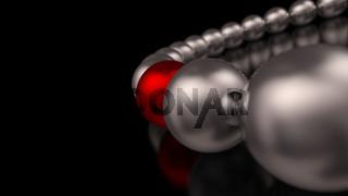 Chrome Red Ball Focus 1