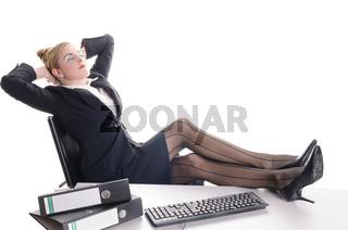 Langeweile im Büro