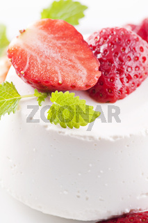 Ricotta with Strawberries