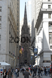 Trinity Wall Street Church, Manhattan New York City (USA)