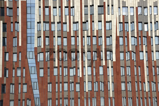 Wohn- und Geschäftshaus Sumatra in der Hamburger Hafencity, Deutschland
