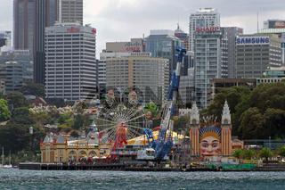 Luna Park in Sydney (Australien)