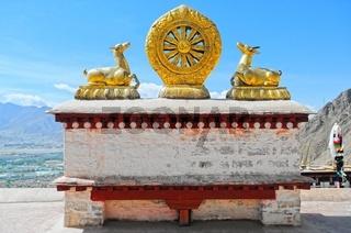 Dharmachakra  Kloster Drepung  Tibet China