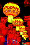 Traditional Chinese lanterns at the Lantern Festival