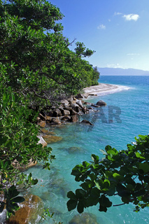 Nudey beach auf Fitzroy Island