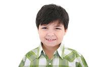 Cute smiling happy little boy