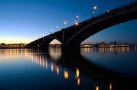 ночной город красноярск