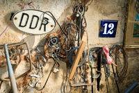 DDR junk wall old attic