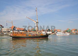 Fischerort Volendam am Ijsselmeer