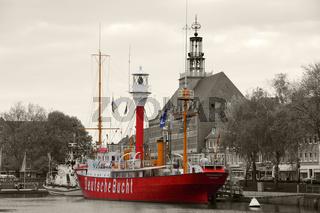 Feuerschiff im Alten Binnenhafen