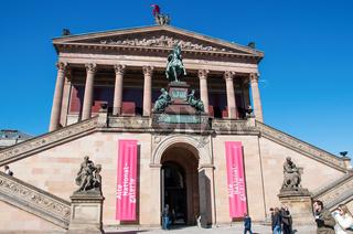 Alte Nationalgalerie at Museumsinsel in Berlin