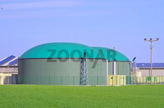 Biogasanlage - biogas plant 82