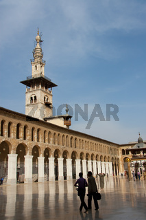 Great mosque Omeyah, Damascus, Syria