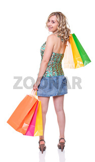 woman at shopping