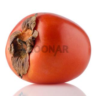 Red ripe persimmon