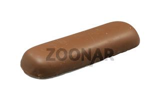 Marzipan mit Schokolade überzogen