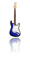 electric guitar, blueburst