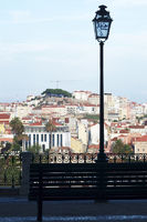 view from on Lisbon's viewpoints