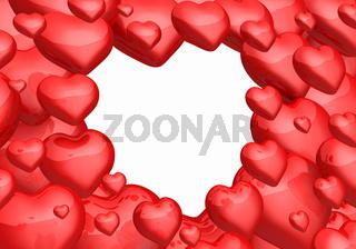 Das Herz der Herzen horizontal