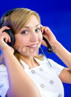 woman dispatcher