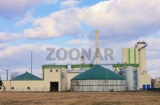 Biogasanlage - biogas plant 86