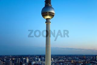 berlin skyline tv tower