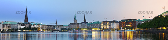 Bright Alster Panorama
